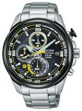 Pulsar Mens WRC Solar Accelerator Stainless Steel Pz6003x1 Watch