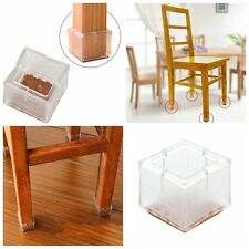 4x Meuble Protection Pieds Chaise Carré Jambes Table Housse Protège Tableau Mode