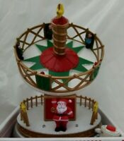Holiday Time Gravity Spin Animated Carnival Ride Music Box Christmas New 8 songs