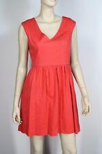 Portmans Red Stretch Cotton Dress Size 10
