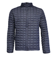fe99c3bf70a9 Ben Sherman Men s Quilted Lightweight Puffer Coat Jacket Blue Size Large