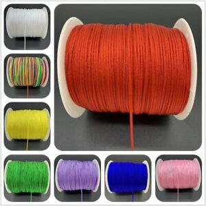 0.5 to 1.5mm Nylon Cord Threads Chinese Cord String Jewelry Making Accessories