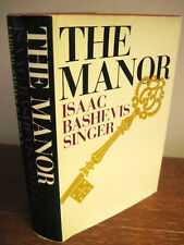 1st/2nd Printing THE MANOR Isaac Bashevis Singer NOBEL PRIZE Rare CLASSIC