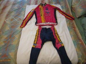 Sturdy Girl Cycling  Long Sleeve and Long Pants Cycling Kit  Medium