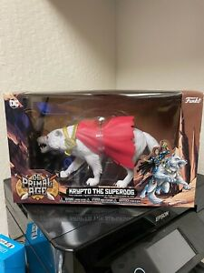 KRYPTO THE SUPERDOG DC HEROES PRIMAL AGE FUNKO FIGURE IN HAND FAST SHIPPING