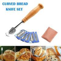 Baker's Lame Grignette Slashing Scoring Scraper-Pastry Cutter Dough Blades A4O9