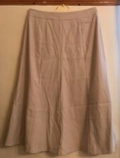 Primark Skirt Beige Faux Suede Long Skirt Size 18 in VGC - FREEPOST