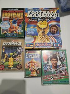 Football Manager Games - Various Sinclair ZX Spectrum Games