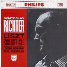 Liszt/Sviatoslav Richter: Concertos For Piano And Orchestra Nos. 1 & 2