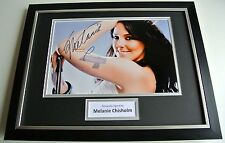 Melanie Chisholm Mel C SIGNED FRAMED Photo Autograph 16x12 display Music & COA