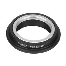 Leica M39 L39 39mm to Canon EOS M M2 M3 Adapter Ring For EF-M Mirrorless Camera