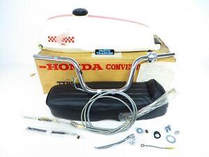 NOS Genuine Honda Vintage Rally Kit Gas Tank Seat Fender Red CM91 Super Cub