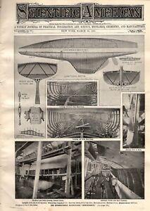 1901 Scientific American March 30 - McPherson KS; Toposcope; Mutograph; Blind