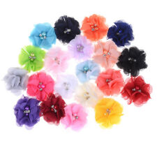 Chic Shabby Chiffon Flowers For Baby Hair Accessories For Headbands DIY 20pcs