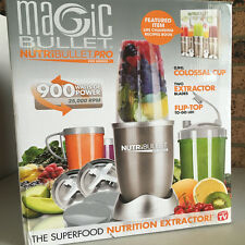 NutriBullet 15P Juicer Mixer Extractor Vegetable Blender 900W Gold