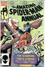 Amazing Spiderman '84 Annual 18 VF J4