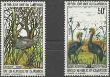 Timbres Oiseaux Cameroun 608/9 ** lot 28361