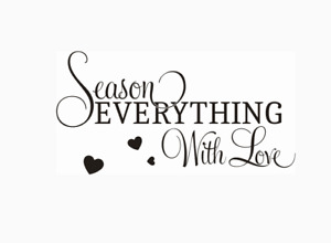 Season Everything With Love Wall Stickers Wall Quotes Wall Art UK 32y