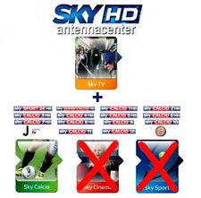 Sky Italia Prepaid-Karte HD SkyTV+Calcio 1 Anno per residenti all'estero