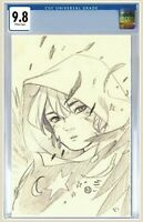💥Wynd #1 CGC 9.8 Peach Momoko Secret Sketch Virgin Variant Comic Pre-Order💥