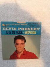 "45 ""Kiss Me Quick/Suspicion""-Elvis Presley w/Picture Sleeve-RCA #447-0639"