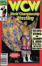 WCW World Championship Wrestling #10 (Newsstand) VF; Marvel | save on shipping -