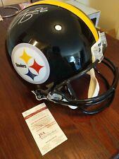 JSA Witness COA Pittsburgh Steelers Le'Veon Bell Signed Full Size Helmet