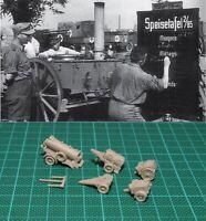 1/144 WWII German Field Kitchen set Resin Kit