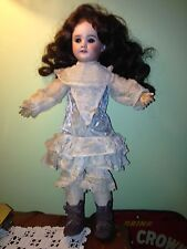 Antique SFBJ PARIS French DOLL BEBE Bisque Head  301 # 3  ORIGINAL CLOTHES 16""