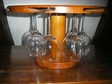 Porte verres à pied inox professionnel 470x88x25 mm
