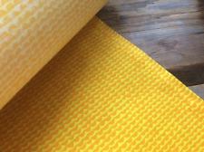 Marimekko Yellow Mini Papajo STIFF cotton 1/2 y fabric bins book covers Finland