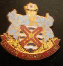 Fulham Football Club Coat Of Arms Type Football Brooch Pin Badge