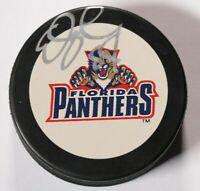 Ed Jovanovski Florida Panthers Signed Autographed Puck NHL Hockey Auto
