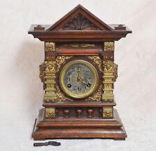 Antique pendule COULTRE, pendulette, schrankuhr pour 1800-1900 TOP!