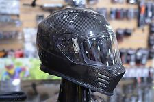 Simpson GHOST Bandit Gloss Carbon Motorcycle Full Face Helmet SIZE XL DOT/ECE
