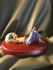 "Thomas Blackshear ""A Time to Dream"" Limited Edition figurine on wood base - Nib"