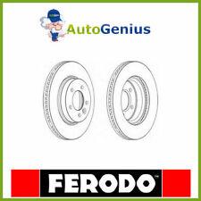 COPPIA DISCHI FRENO ANT LAND ROVER RANGE ROVER SPORT 2.7D 4x4 05>13 FERODO F1430