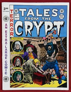 TALES FROM THE CRYPT #1 - 1991 - HORROR - UNDERGROUND - 64 PGS - EC COMICS - VF