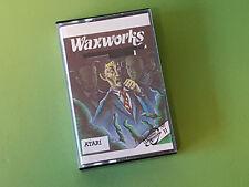 Waxworks - Mysterious Adventure No. 11 Atari 8-Bit Game (SCC)