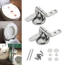 1 Set Remplace Réparation Charnière Toilette Latrine Siège Cuvette Fixation