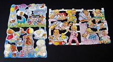 Vintage Baby Scrap Reliefs Decoupage MLP Mamelok Press Scrapbooking Die-cut 1997