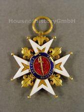 Frankreich: Militärverdienstorden für Protestanten, Ritterkreuz um ca.1800, Gold
