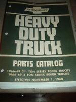 1966 1967 1968 1969 chevrolet heavy duty truck parts catalog