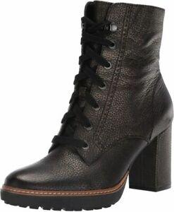 Naturalizer Women's Callie Mid Shaft Calf Boot  7.5 Wide, Bronze
