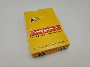 Vintage 1974 Kodak Kodachrome II Movie Film Type A KA447 16mm Magazine Cameras