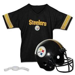 Franklin Sports NFL Pittsburgh Steelers Kids Football Helmet and Jersey Set -
