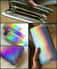 US STOCK - Holographic Wallet - NEW - Gold* Purple* Silver*