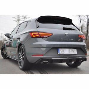 Diffusor Heckdiffusor für Seat Leon 5F Mk3 Cupra FR Facelift ABS Heckansatz V1