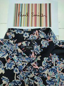 Paul Smith FLORAL SHIRT - Size M - Beautiful fine cotton - ULTRA RARE £250