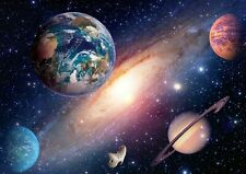 A3| Solar System Planets Poster Size A3 Planet Outer Space Poster Gift #14405